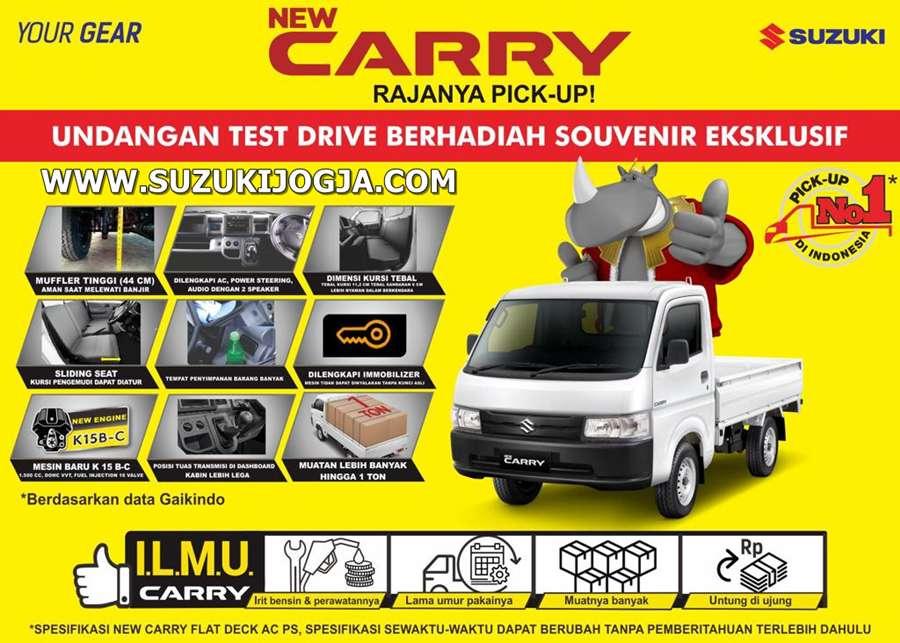 Harga All New Carry Pick Up Jogja Suzuki Sumber Baru Mobil